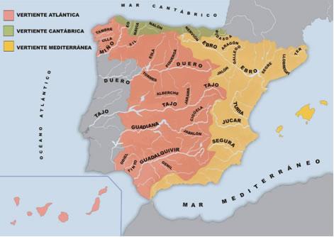Accidentes geogr ficos de la pen nsula ib rica - Que hay en portugal ...